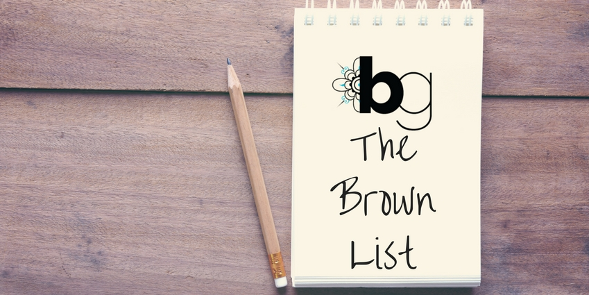 The Brown List: Staff Picks for April 2017