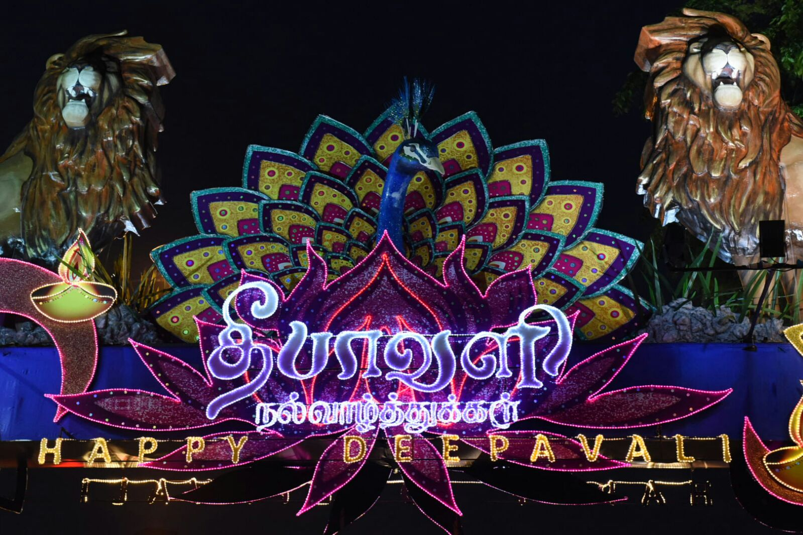 Deepavali A Colorful Vision In Singapore Brown Girl