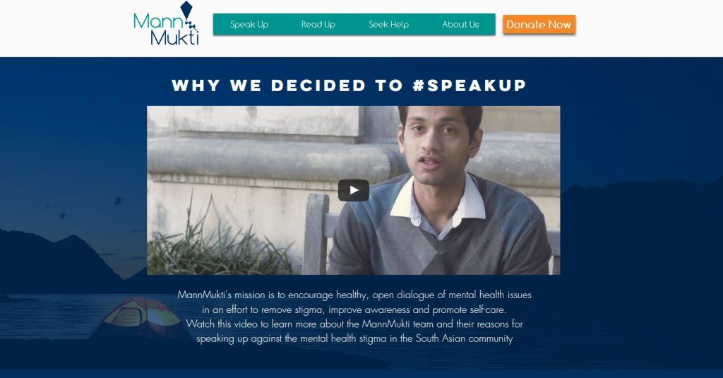 MannMukti: New Website for South Asians Struggling with Mental Health Issues