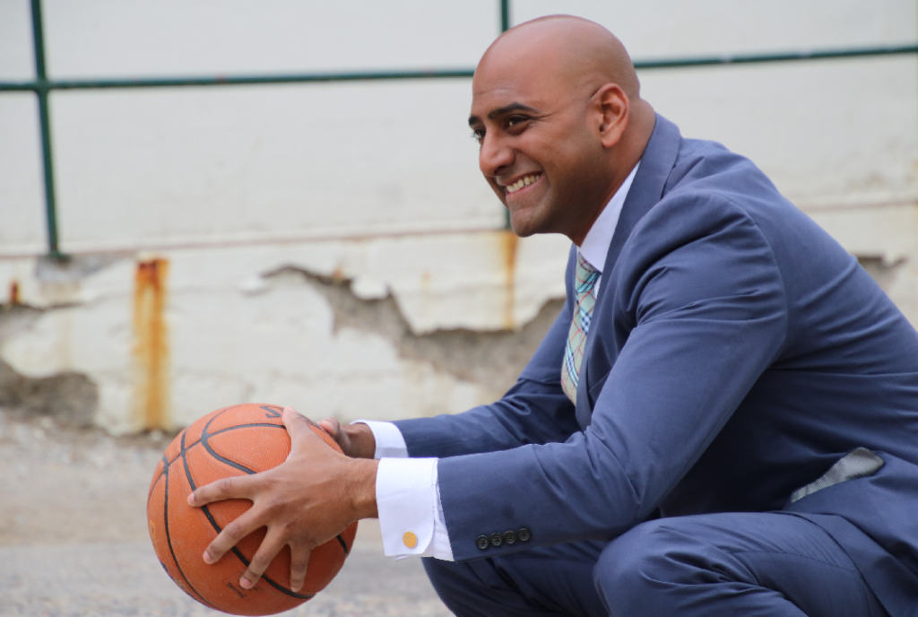 Shaun Jayachandran Gives Kids in India a Chance at Education Using Basketball