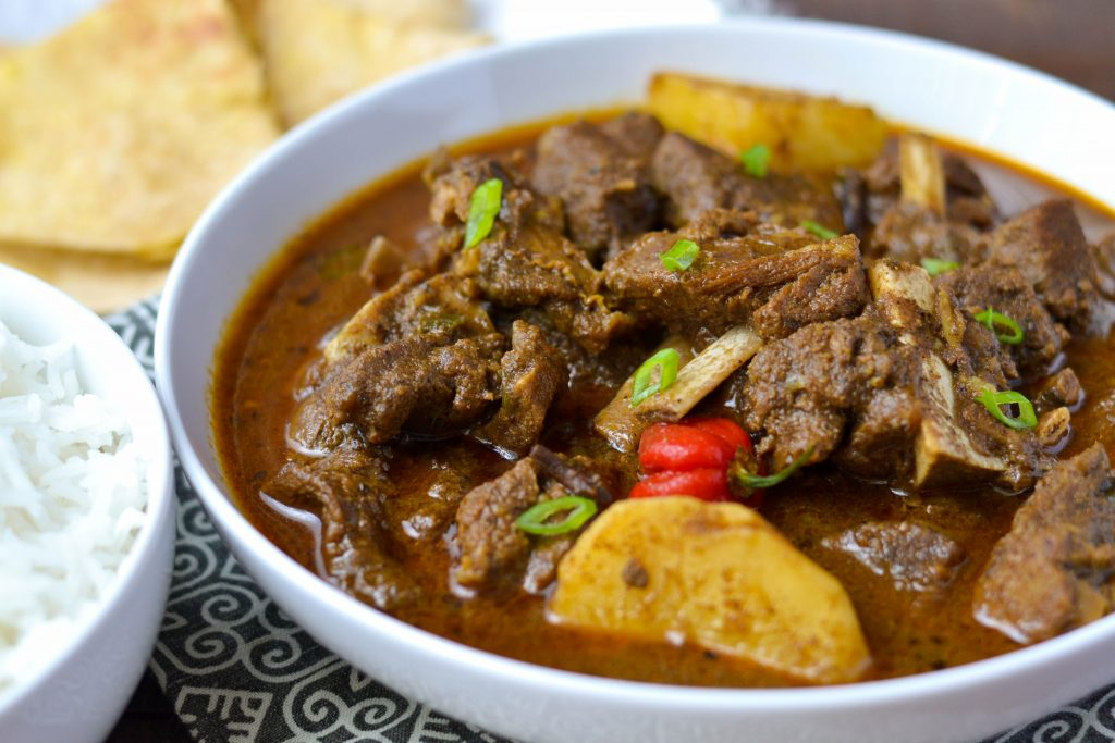 You'll Want to Gobble Up this Guyanese-Style Goat Curry in Minutes!