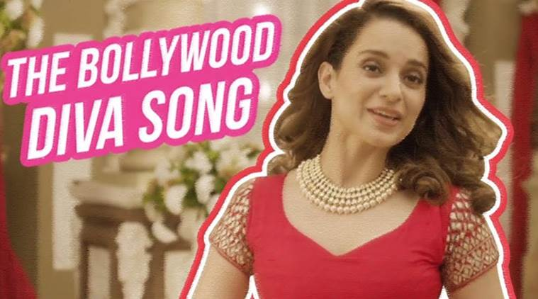 Kangana Ranaut Challenges Sexism in Bollywood with 'The Bollywood Diva Song'