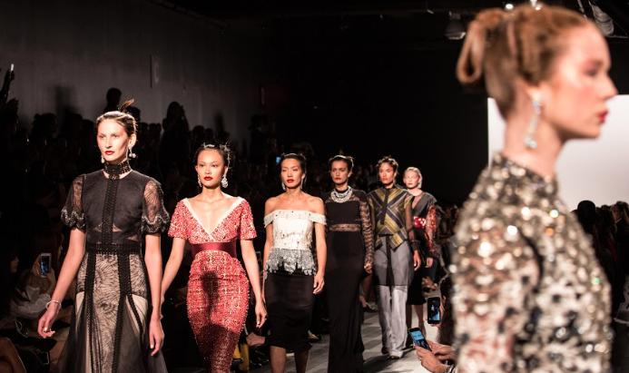 The Bibhu Mohapatra Woman: New York Fashion Week's Dreamy Samurai