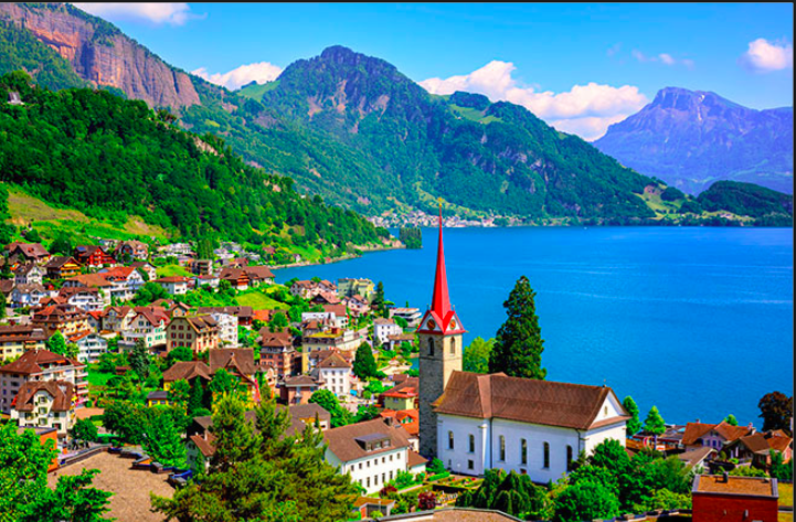 Poem: 'The Beauty of Switzerland'