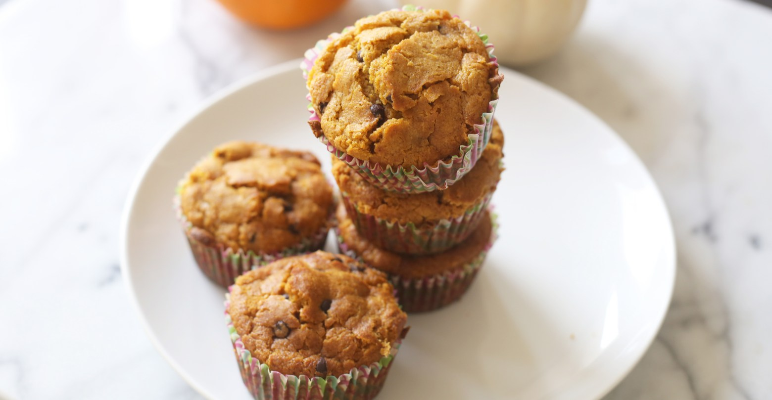 pumpkin muffins with a twist