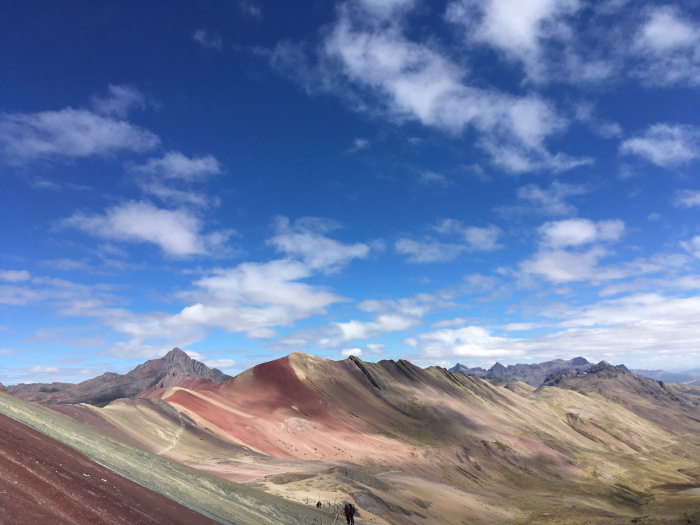 The Time I Rose Above the Sky at Cusco's Rainbow Mountain