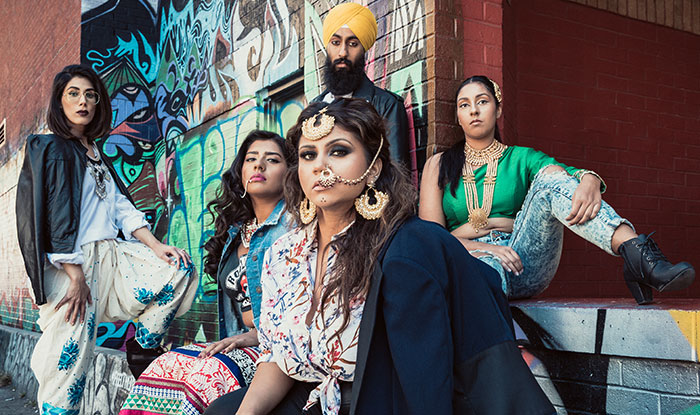 Brown Girl Introduces Grunge and Graffiti into your Diwali Wardrobe this Year and it's Straight Fire