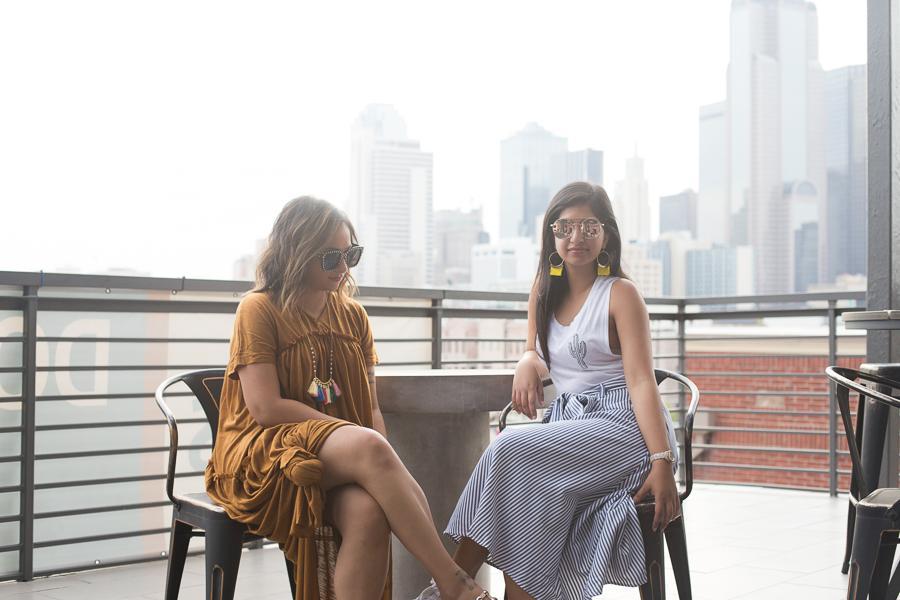 Sisters, Neelofar and Alisha Keshavjee, Grow their Passion for Fashion into 'The Kayes'