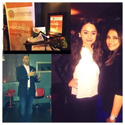 #BG Trisha and Kamini attended a fundraiser hosted by Crossover Basketball in NYC.