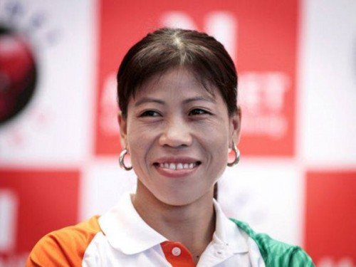 """Mary Kom- Extending support for #TheTajMustSmile campaign. """"I have personally faced similar issues; I have seen my acquaintance that were isolated and couldn't even see- off their departed near and dear ones (attend funeral/rituals) because they were having their periods. They cannot enter kitchen, touch utensils and have to avoid contacts with family and friends. What an embarrassment. Can we continue to be unfair to these girls by making them feel that menstruation is a problem? We should instead educate them about menstruation and how they can maintain their menstrual hygiene"""" Read more here - http://goo.gl/ICNr3W"""