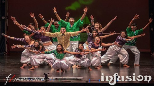 Delaware Kamaal finishing their 8-minute piece with expressions to dazzle the audience. [Photo Credit: Jonathan Hsieh]