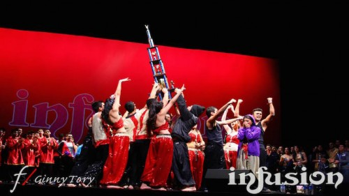 All of UA Om Shanti's dedication paying off at the end after they are announced the 1st place winners of Infusion 2014! [Photo Credit: Jonathan Hsieh]