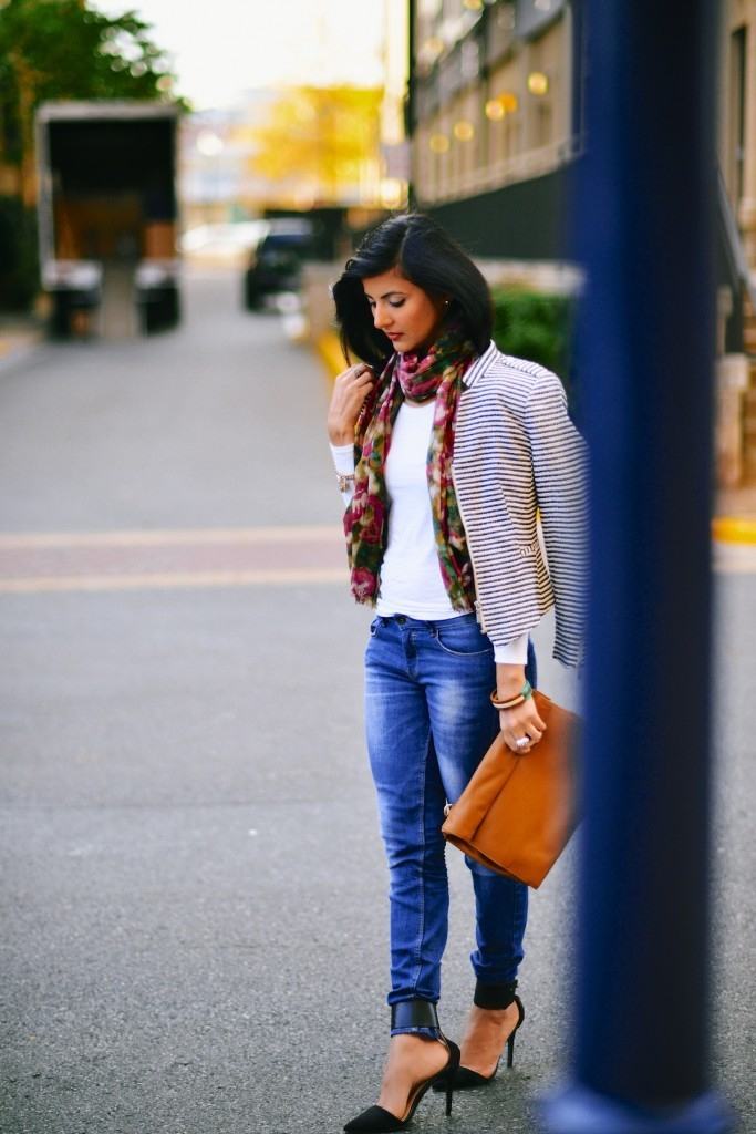 Faded-Blue-Denim-Jeans-with-FLoral-Scarf-004-683x1024