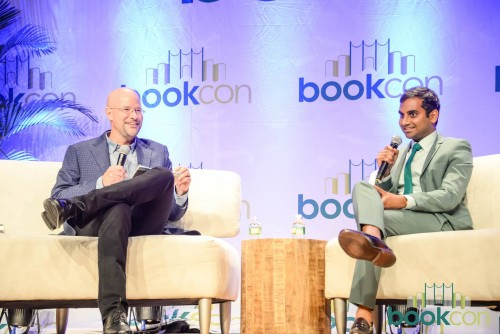 "[Aziz Ansari in coversation with The New York Times's ""Modern Love"" column editor, Daniel Jones, about his new book. 