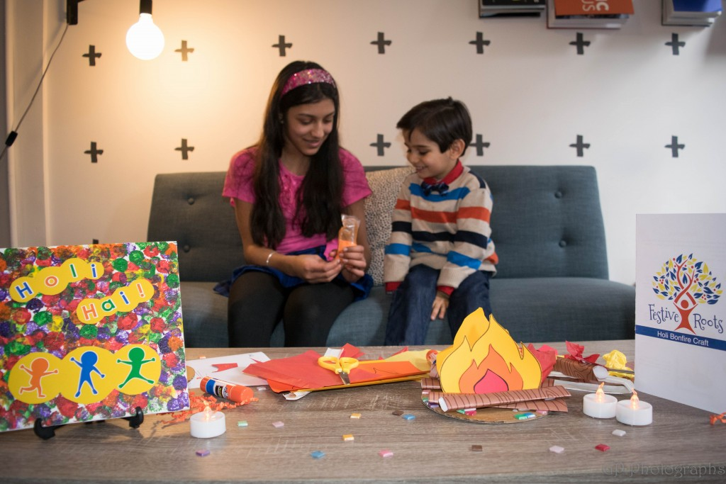 Celebrate Holi With A Festive Roots Arts Crafts Project For The