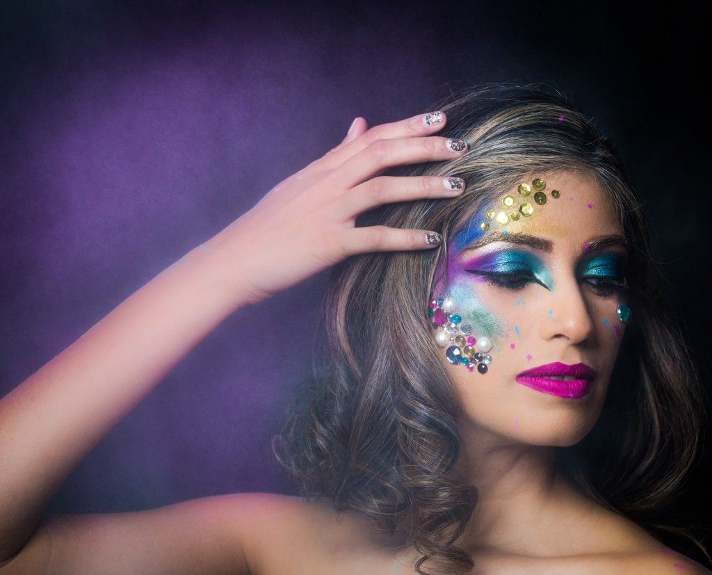4bc1869d7fc Holi Inspired Makeup Look - Brown Girl Magazine