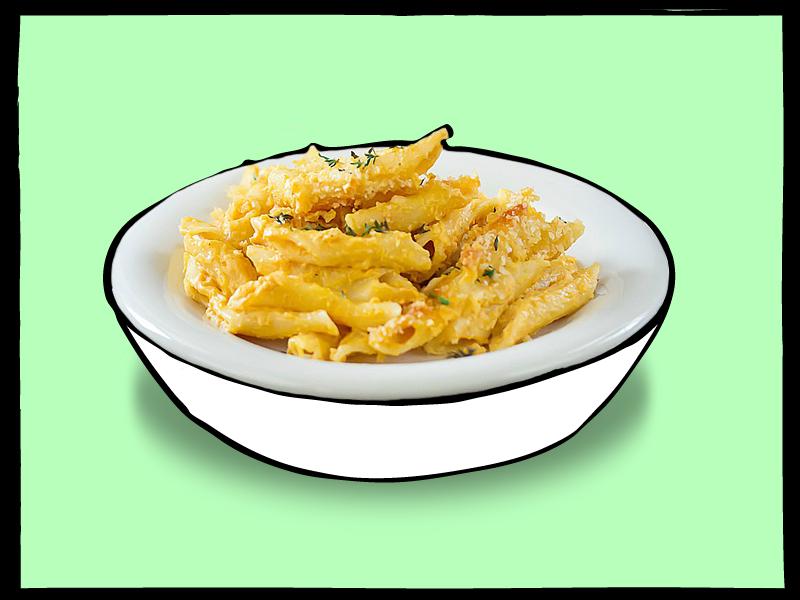 cauliflower masala mac and cheese