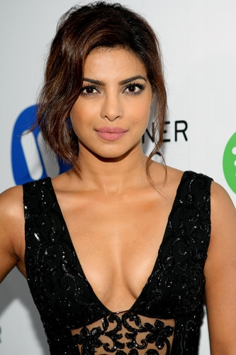 Download Priyanka Chopra Brown Lipstick Pictures