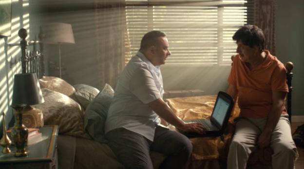 Indian Detective Screenshot - Russell Peters & Anupam Kher