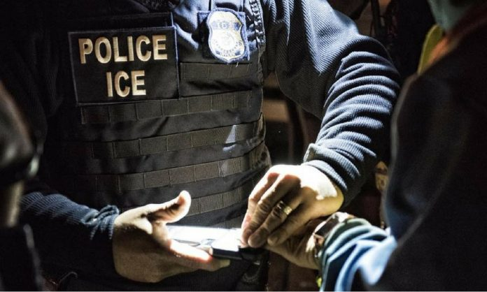 Immigrations and Customs enforcement