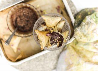 Sweeten Diwali Season with Chocolate Samosas