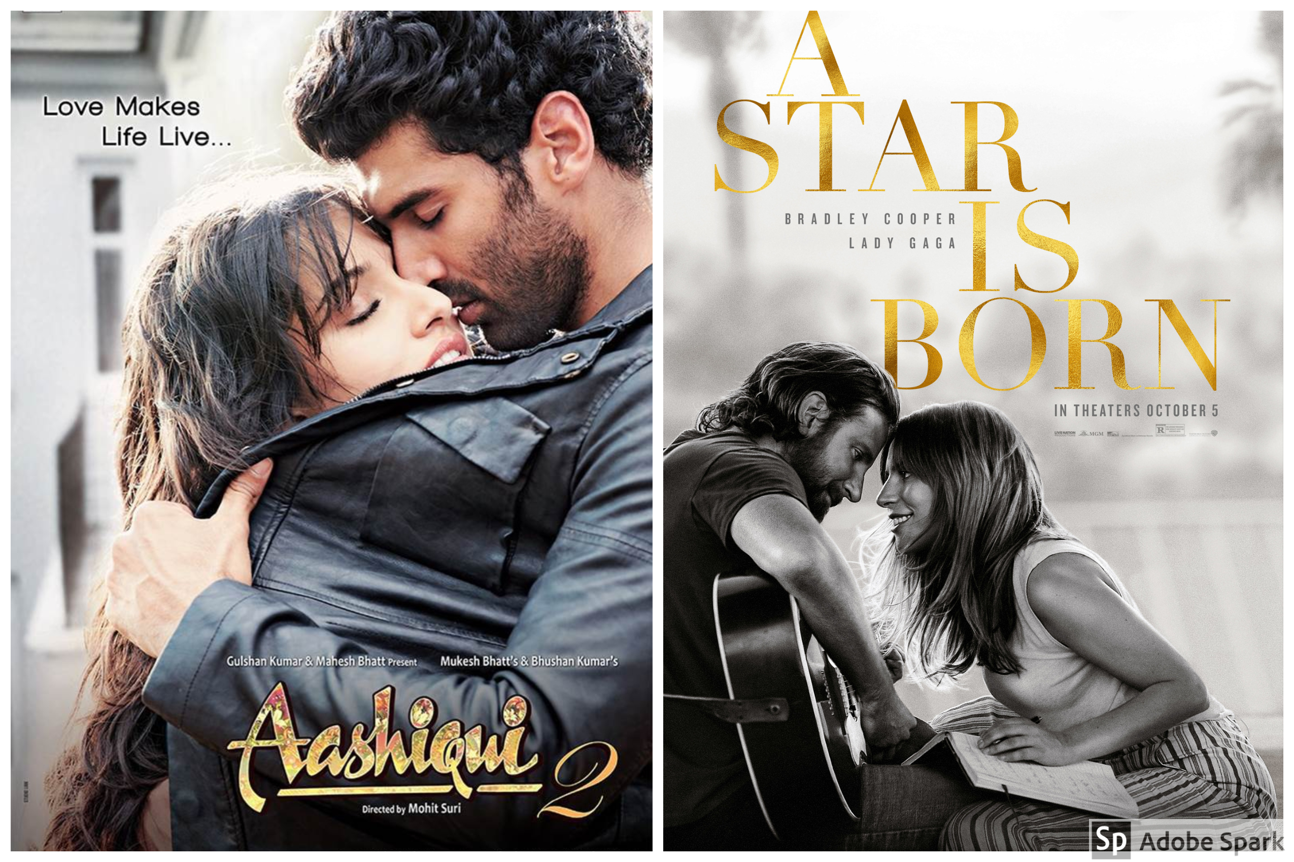 A Star Is Born Vs Aashiqui 2 Two Stars Were Born But