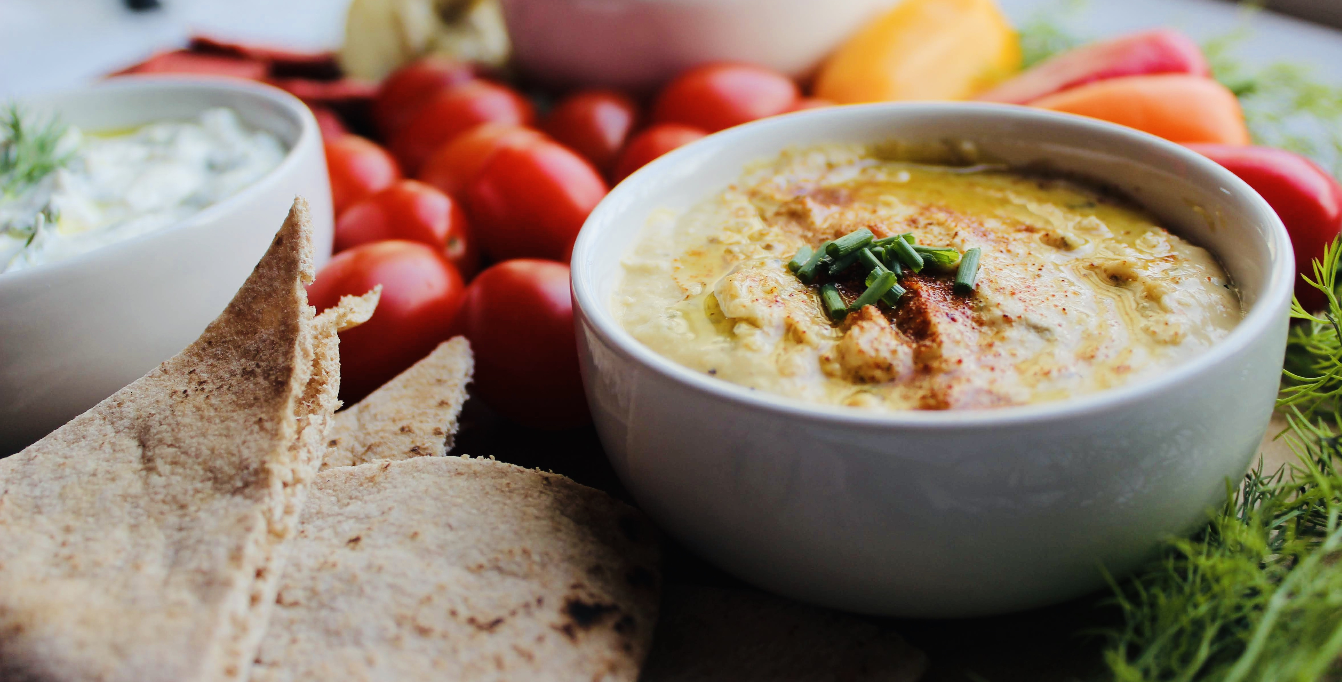 A Trio of Fresh Flavor: 3 Easy-to-Make Mediterranean Dips