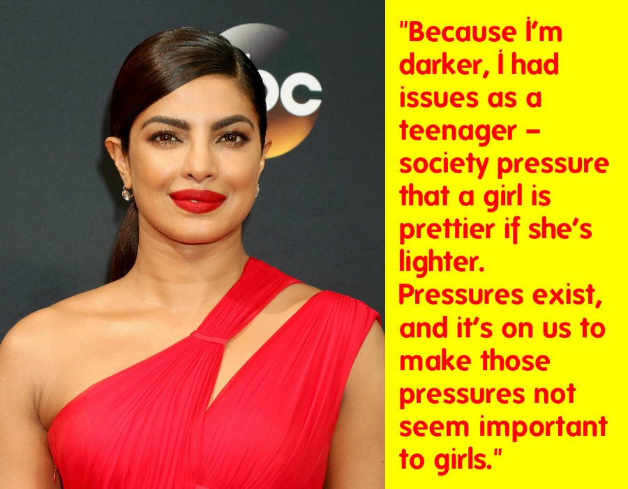 Dear Priyanka Chopra, Endorsing Colorism And