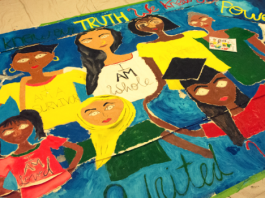 indo caribbean mural