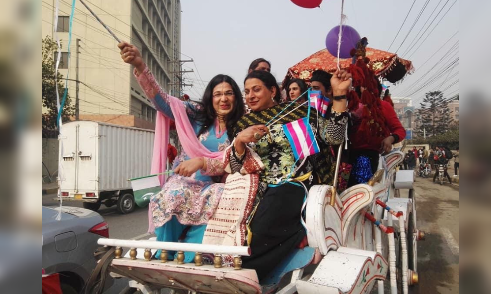 9c5e57e89 Pakistan Had its First-Ever Transgender Pride Parade in Lahore