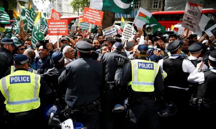 London Kashmir Protest